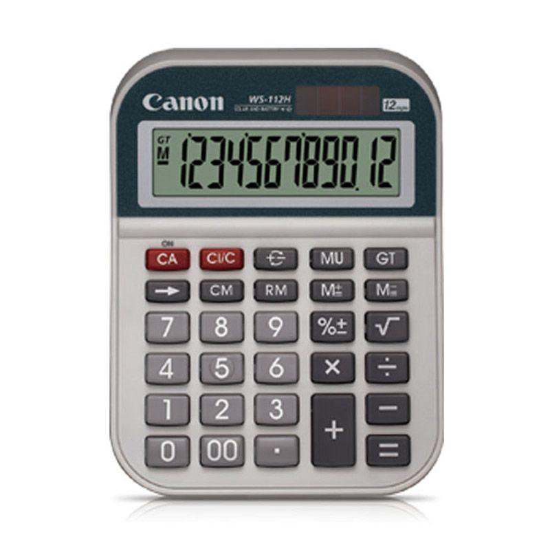 Canon WS 112H Kalkulator [12 Digit]