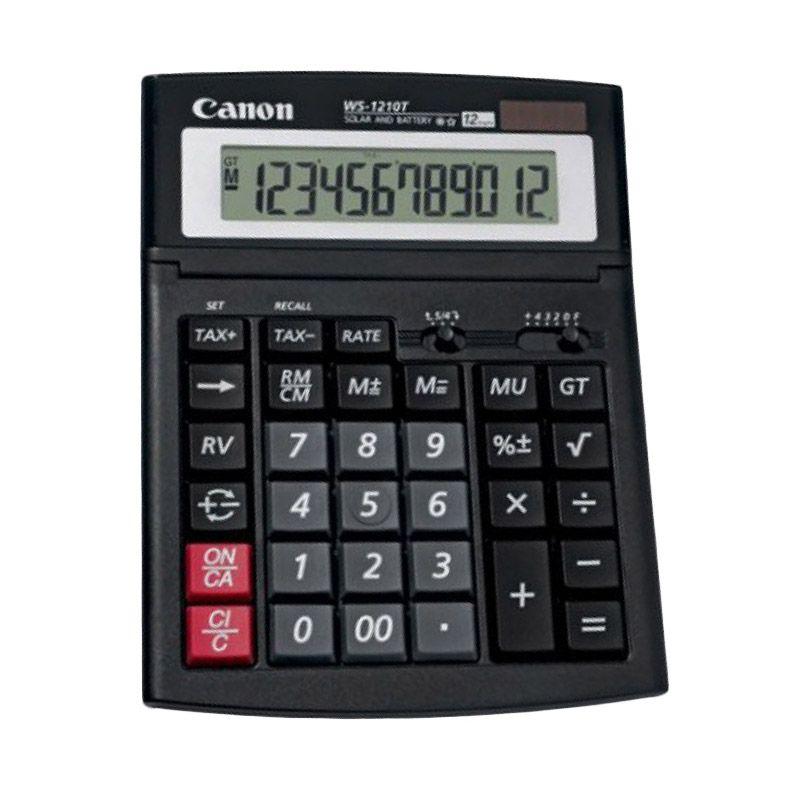 Canon WS 1210T Kalkulator [12 Digit]