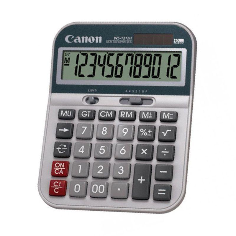 Canon WS 1212H Kalkulator [12 Digit]