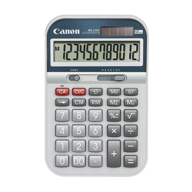 Canon WS 212H Kalkulator [12 Digit]