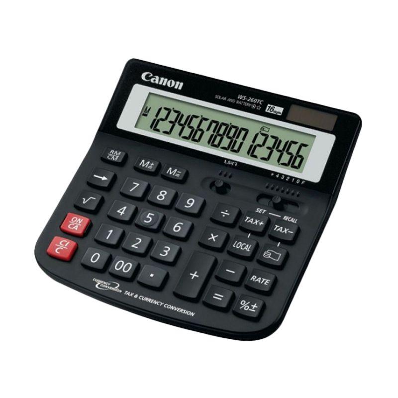 Canon Desktop WS 260 TC Kalkulator