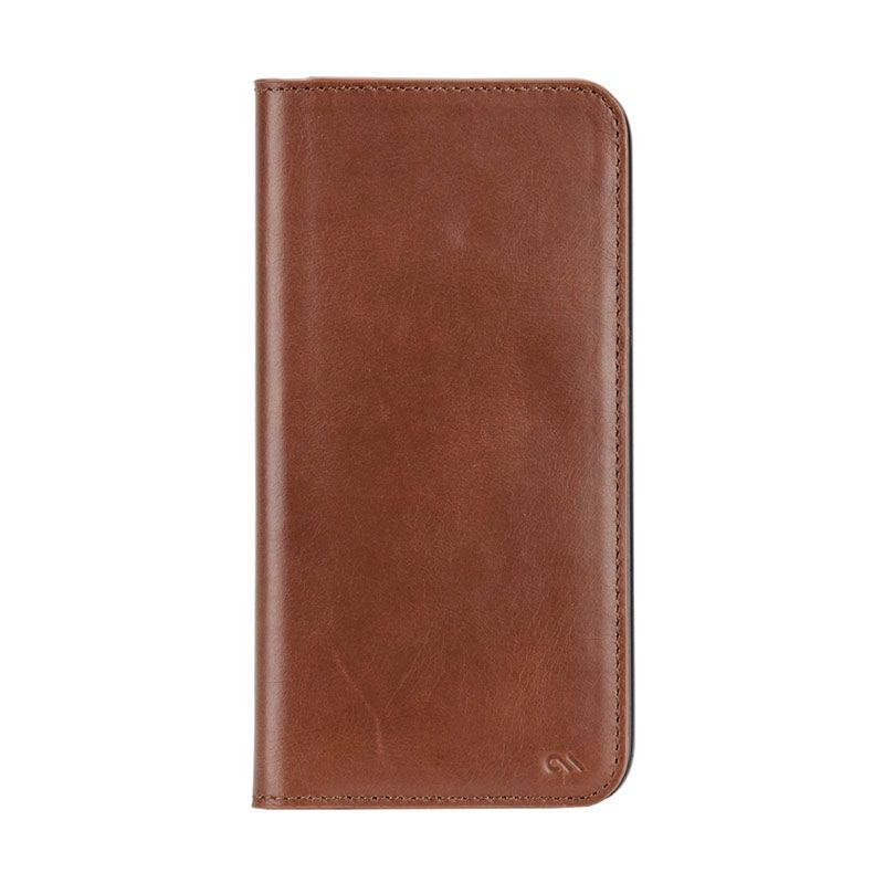 Casemate Wallet Folio Brown Casing for Samsung Galaxy S6