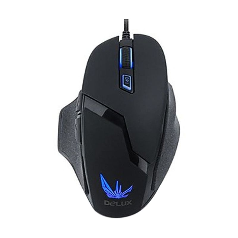 Delux 612 Black Gaming Mouse
