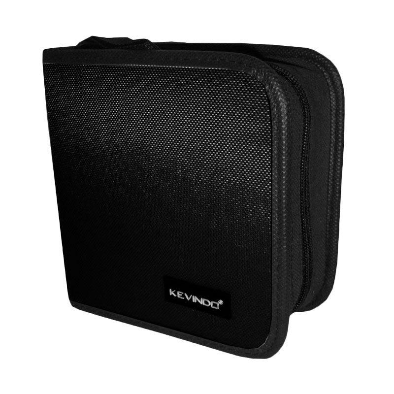 Kevindo 40 Black CD Holder Case