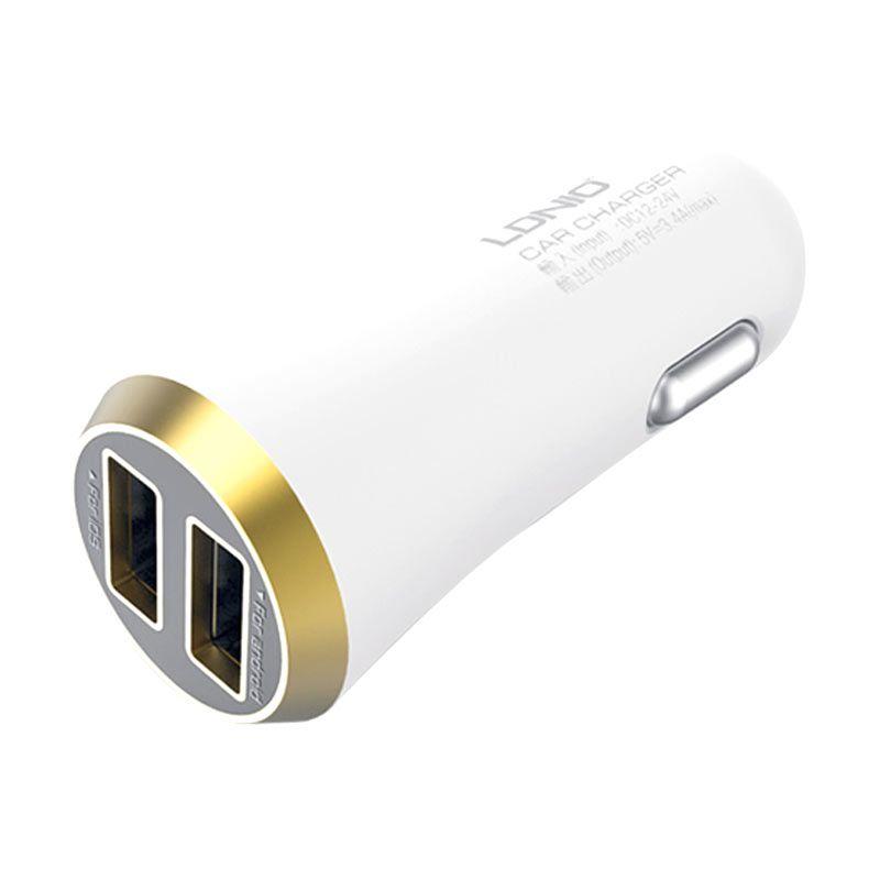 LDNIO Dual Port USB DL-C27 Car Charger