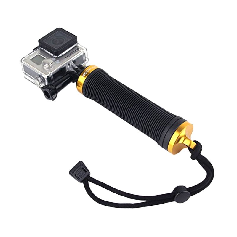 Neopine HG-3 Memory Storage Gold Handgrip for Action Cam