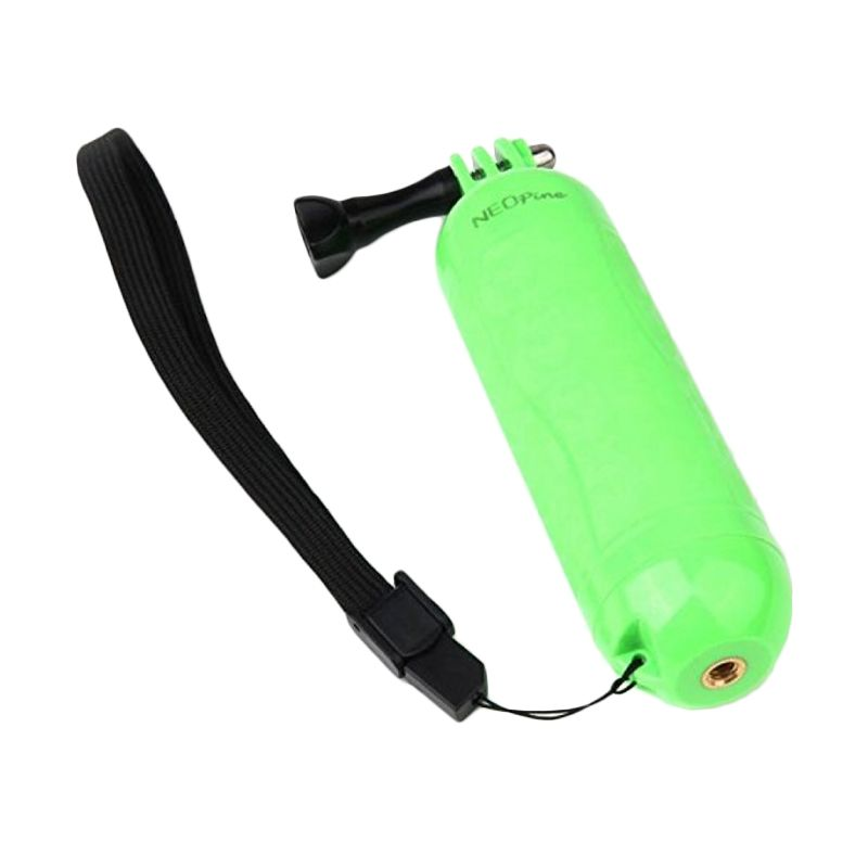 Neopine NPF-1 Floating Handgrip Hijau Monopod for GoPro