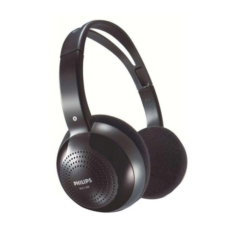 Philips SHC 1300 Black Wireless Headset