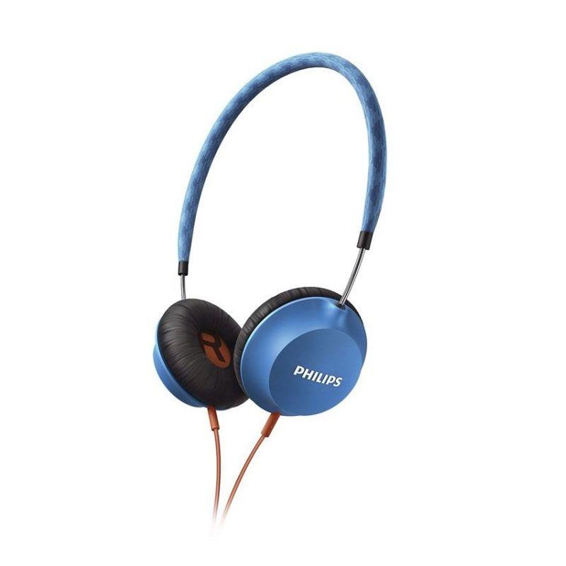 Philips SHL 5100BL Citiscape Biru Headphone