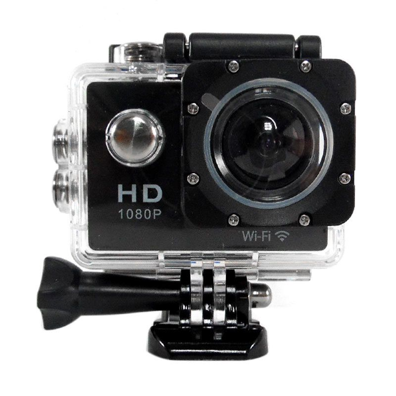 Rotamart WiFi Full HD 1080P Black Action Camera [12MP]
