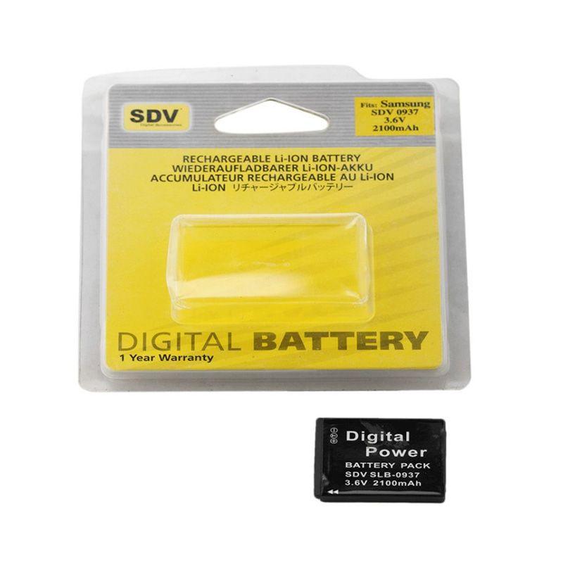 SDV 0937 Baterai Kamera for Samsung [2100 mAh]