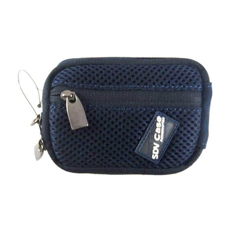 SDV 10080 Pouch Biru Tas Kamera Pocket