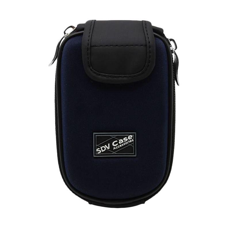 SDV 7033 Pouch Biru Case Kamera Pocket
