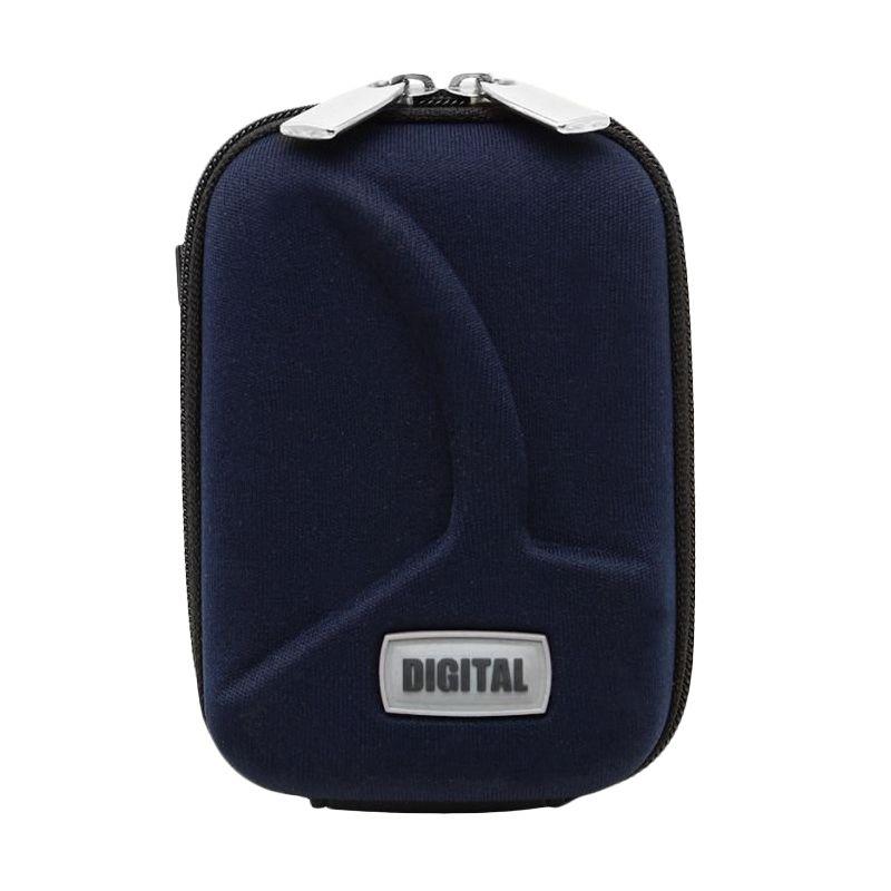 SDV 7088 Pouch Blue Tas Kamera Pocket