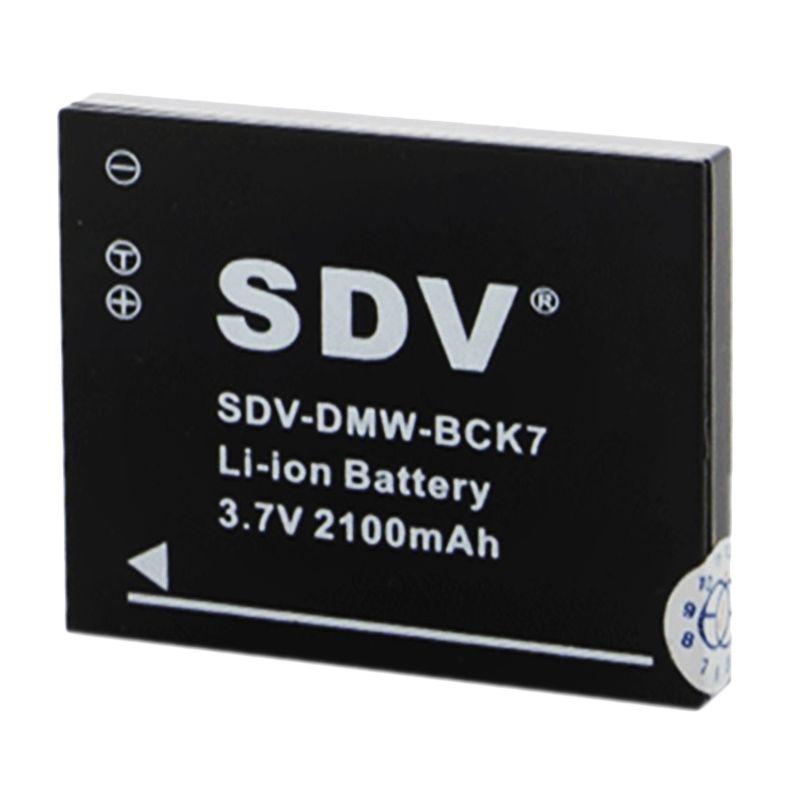 SDV DMW-BCK7 Baterai Kamera untuk Panasonic [2100 mAh]