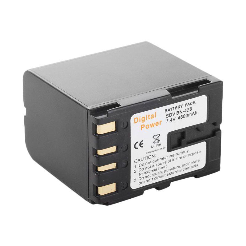 SDV BN-428 Baterai Kamera for JVC Camcorder [4800 mAh]
