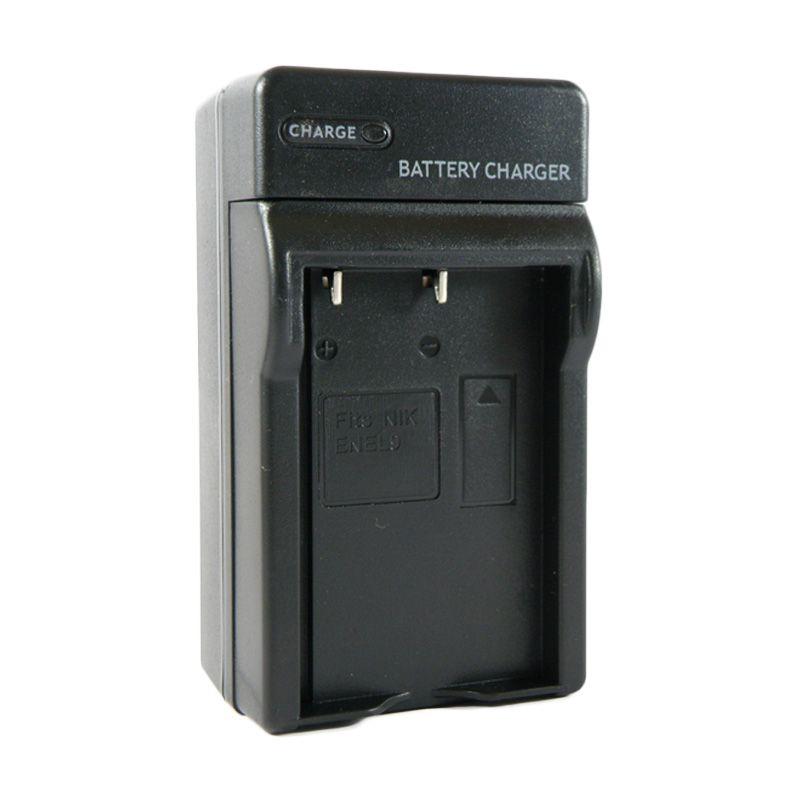 SDV Charger Baterai Nikon EN-EL 9 + Car Charger