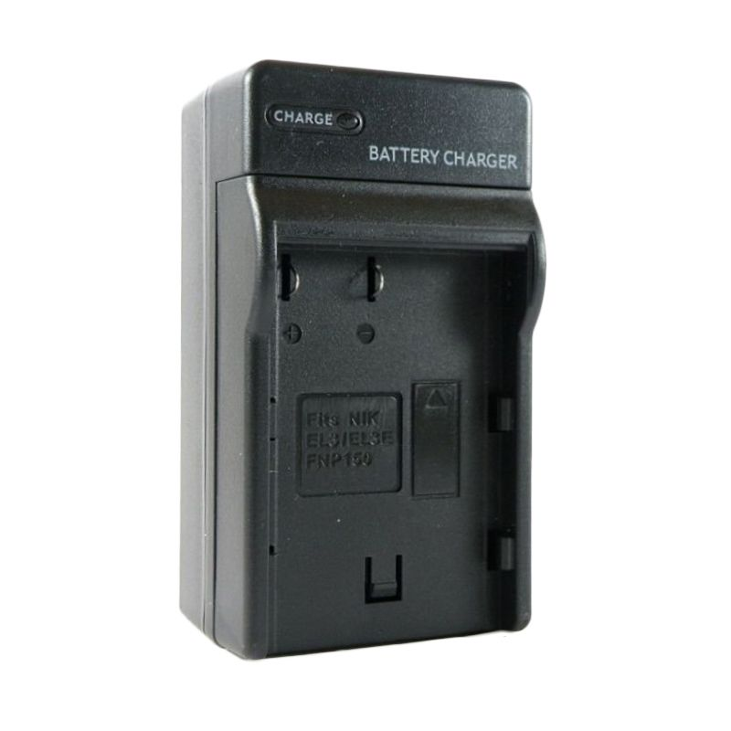 SDV CP 60 Hitam Charger Baterai dan Car Charger for Camera Casio