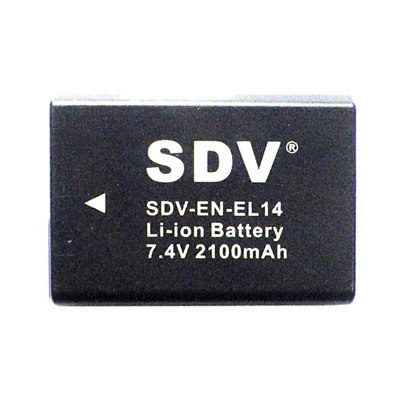 SDV EN-EL14 Baterai Kamera for Nikon [1200 mAh]