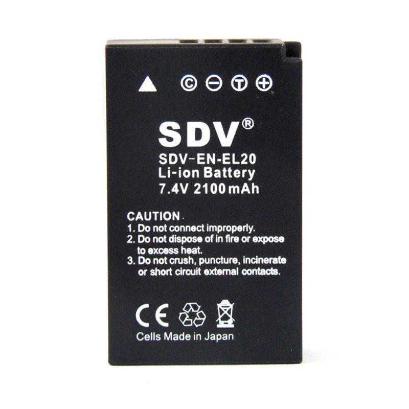 SDV EN-EL20 Baterai Kamera untuk Nikon [2100 mAh]