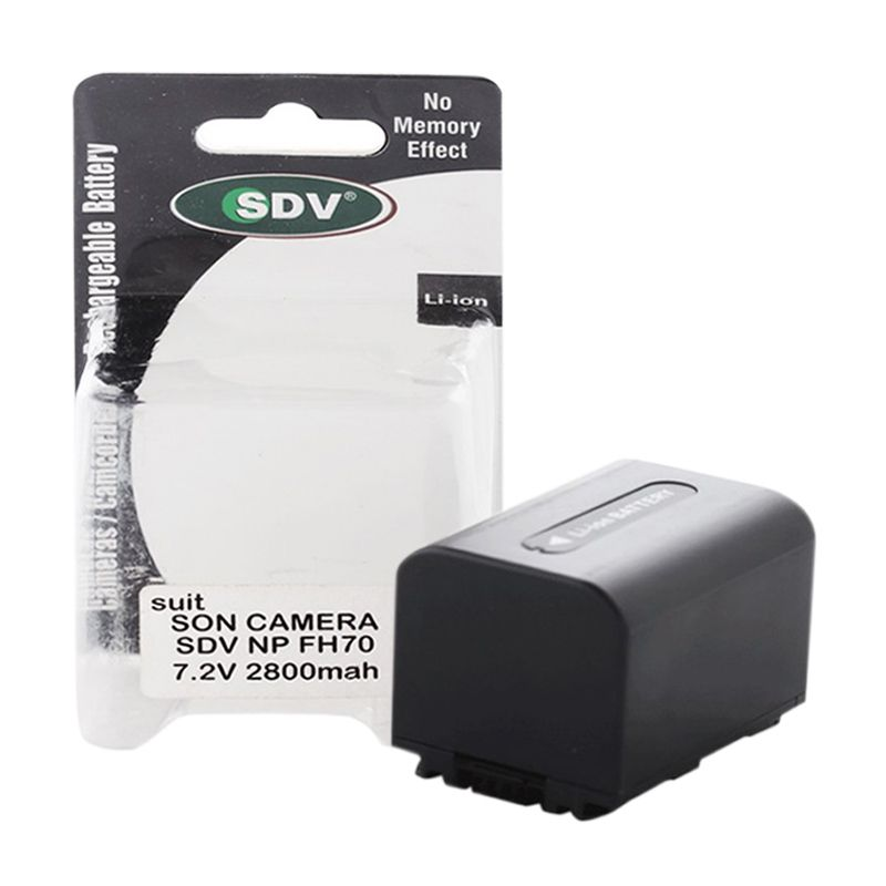 SDV FH70 Baterai Kamera for Sony Camcorder Wireless [2800 mAh]