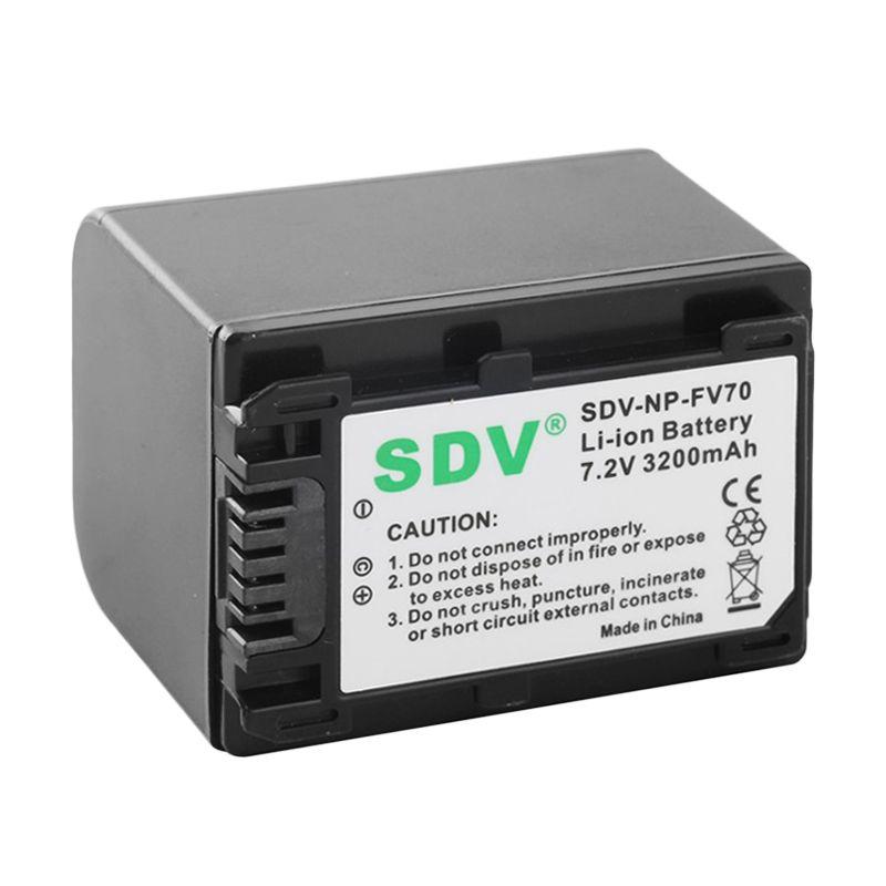 SDV FV 70 Baterai Kamera for Sony [3200 mAh]