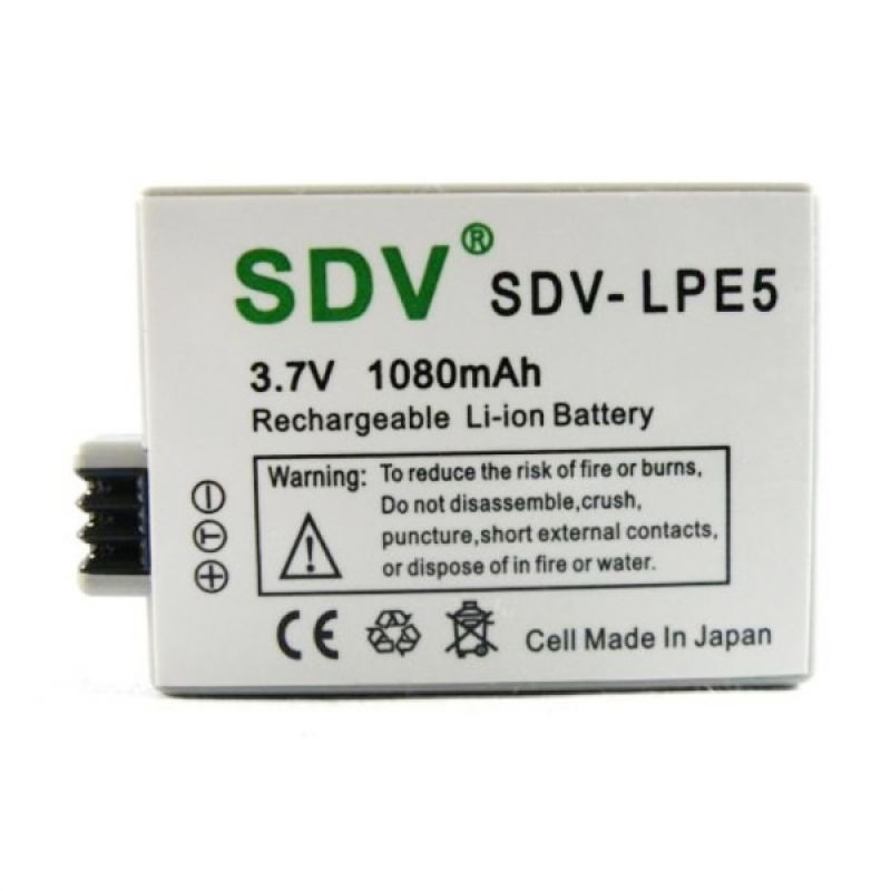 SDV LP-E5 Battery For Kamera Canon