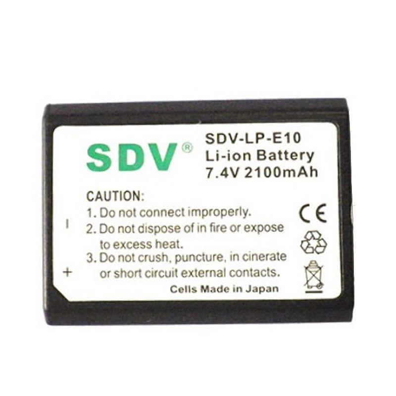 SDV LP-E10 Baterai Kamera untuk Canon [2100 mAh]