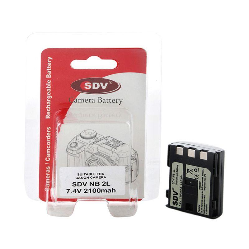 SDV NB-2L Baterai Kamera untuk Canon [2100 mAh]