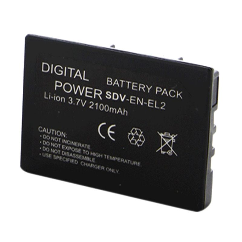 SDV Nikon EN-EL2 Baterai Kamera [2100 mAh]