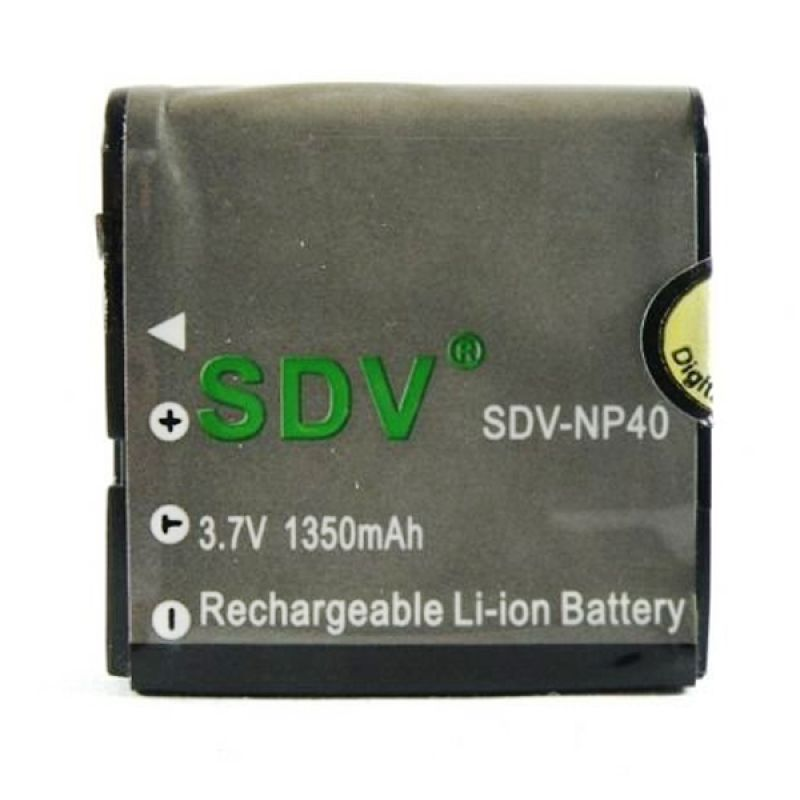SDV NP-40 Battery For Casio Camera