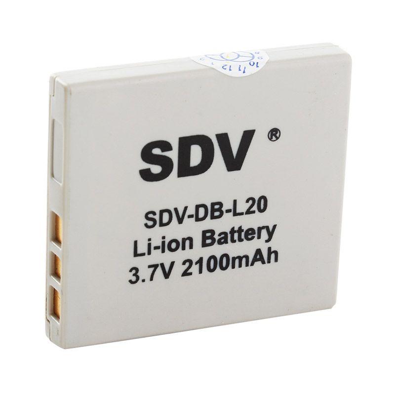 SDV SL-20 Baterai Kamera untuk Sanyo [2100 mAh]