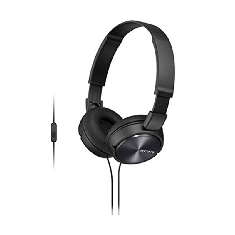 Sony MDR - ZX310AP Hitam Headset
