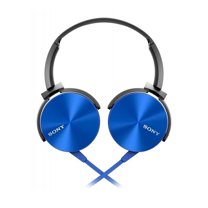 Sony MDR XB-450AP Extra Bass Biru Headset