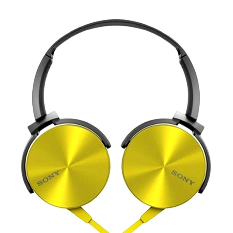 Sony MDR XB-450AP Extra Bass Kuning Headset