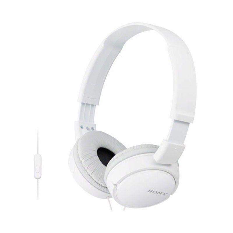 Sony MDR - ZX110APB Putih Headset