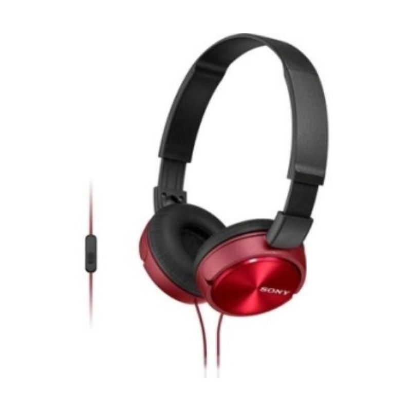 Sony MDR - ZX310AP Merah Headset