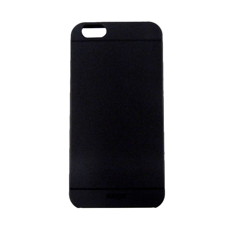 Vooger Softcase Black Casing for iPhone 6 Plus