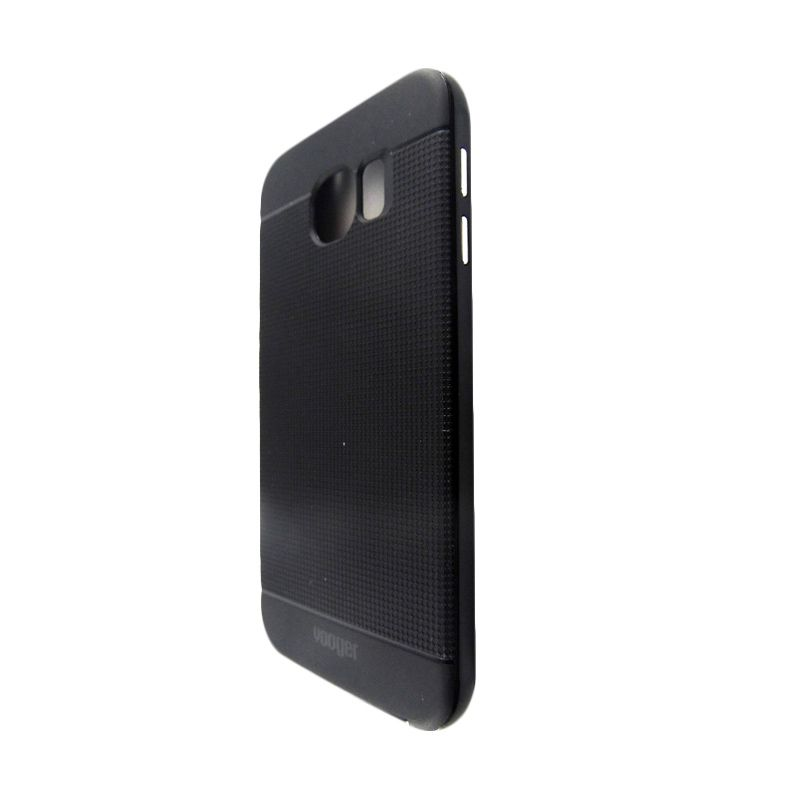 Vooger Softcase Black Casing for Samsung Galaxy S6