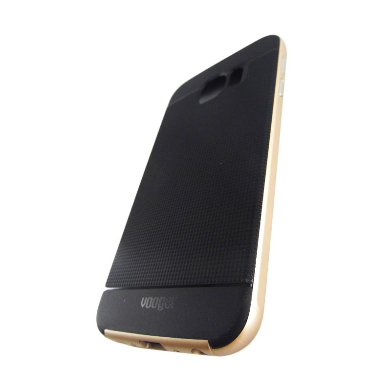 Vooger Softcase Gold Casing for Samsung Galaxy S6