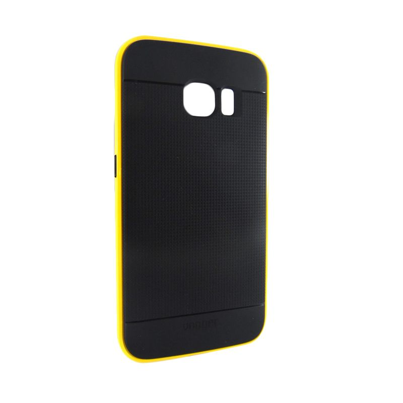 Vooger Softcase Yellow Casing for Samsung 6 Edge