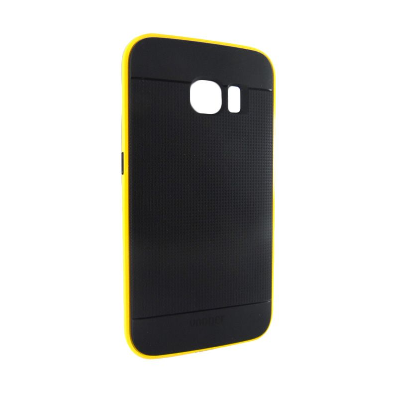 Vooger Softcase Yellow Casing for Samsung Galaxy S6