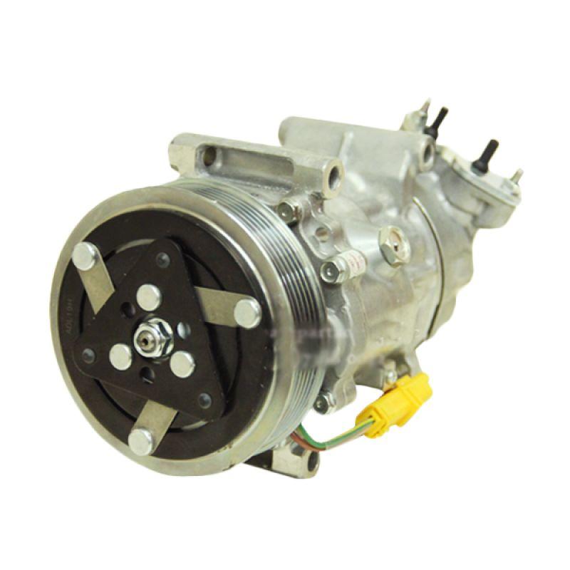 Sanden Kompresor AC Untuk Peugeot 206 [Kaki Tancap]