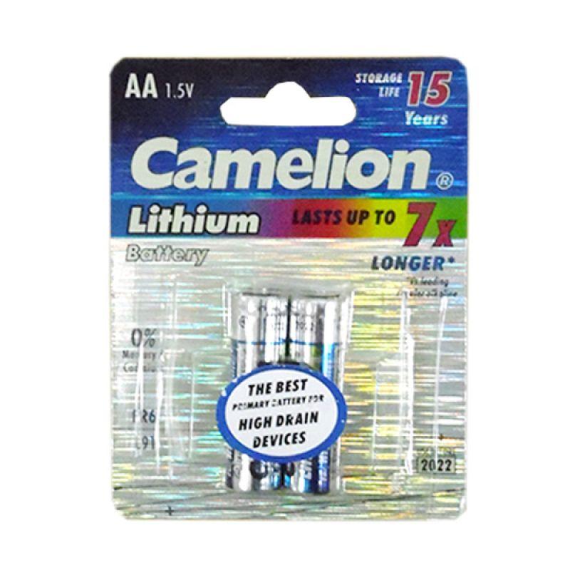 Camelion FR6-BP2AA Battery Lithium AA Baterai Kamera [2 Pcs]