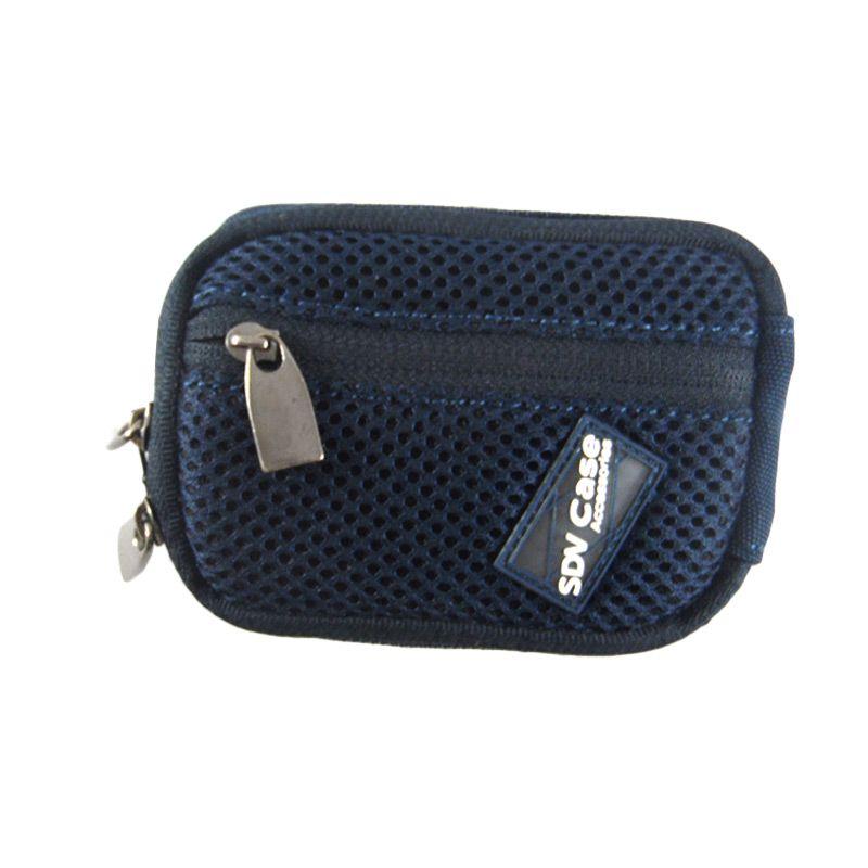 SDV 10080 Biru Pouch Case Kamera Pocket