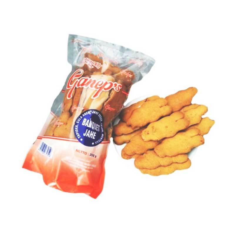 Roti Ganep Banquet Jahe [8 pak]
