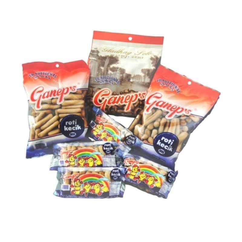 Roti Ganep Kecik 2 [1 paket]