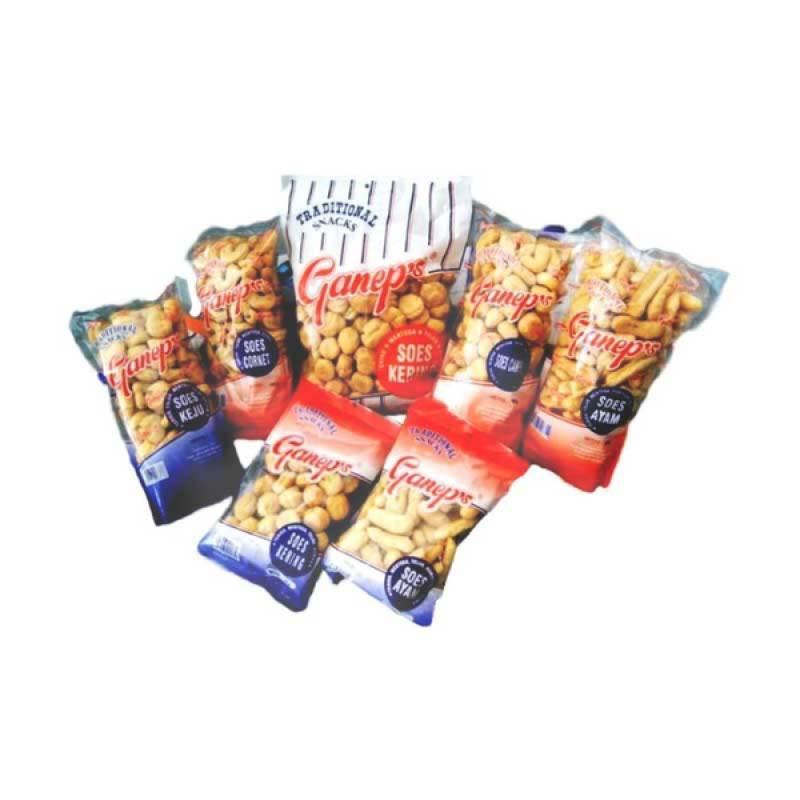 Roti Ganep Kombinasi 3 [1 paket]