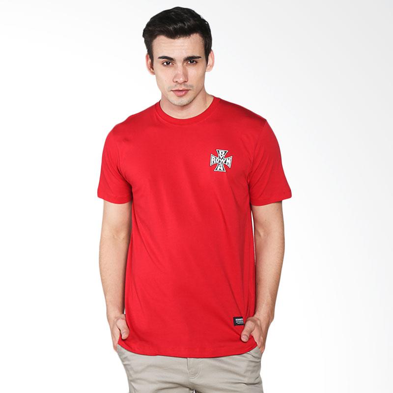 Rown Division Banked 01,06,003,16 T-Shirt - Red Extra diskon 7% setiap hari Extra diskon 5% setiap hari Citibank – lebih hemat 10%