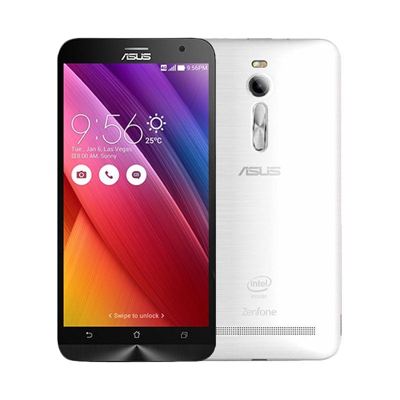 Asus Zenfone 2 ZE550ML Putih Smartphone [16 GB/RAM 2 GB]